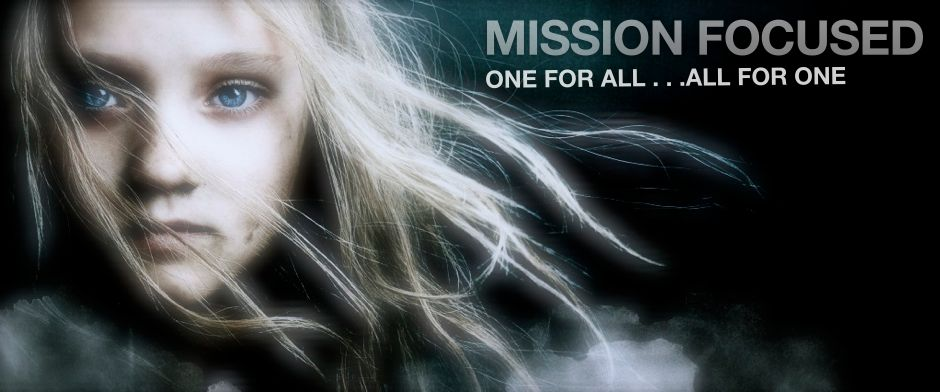 Mission focused: one for all...all for one