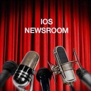 Be Informed_Recent Press_IOS Newsroom_five different microphones in front of a red velvet curtain