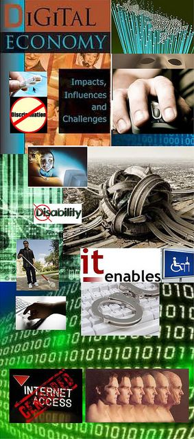 Be Informed_Accessible to All_photo montage of digital opportunities available for and by people with disabilities_Part 1 of 4