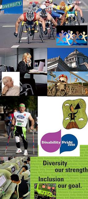 Be Informed_Accessible to All_photo montage of digital opportunities available for and by people with disabilities_Part 5 of 5