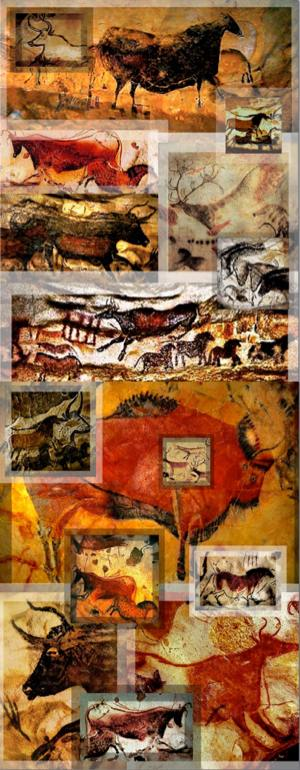 Be Informed_Becoming Understood_photo montage of Lascaux Cave paintings_Part 1 of 3