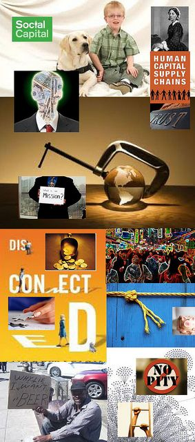 Be Informed_Building Social Capital_photo montage of social capital images, books, and networks_Part 1 of 5