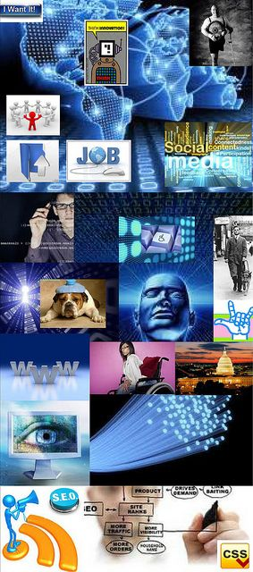 Be Informed_Workforce Development_photo montage of career options for people with disabilities_Part 2 of 3