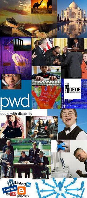 Be Involved_Community Snapshot_photo montage of cross-disability community_Part 1 of 3